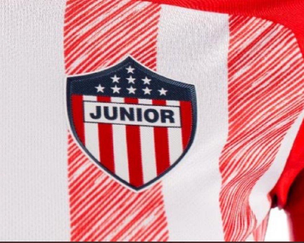 Nueva camiseta del Junior: Junior de Barranquilla estrena camiseta