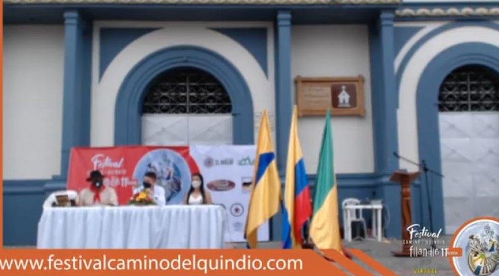 Festival Camino del Quindío, versión 11 desde el parque principal