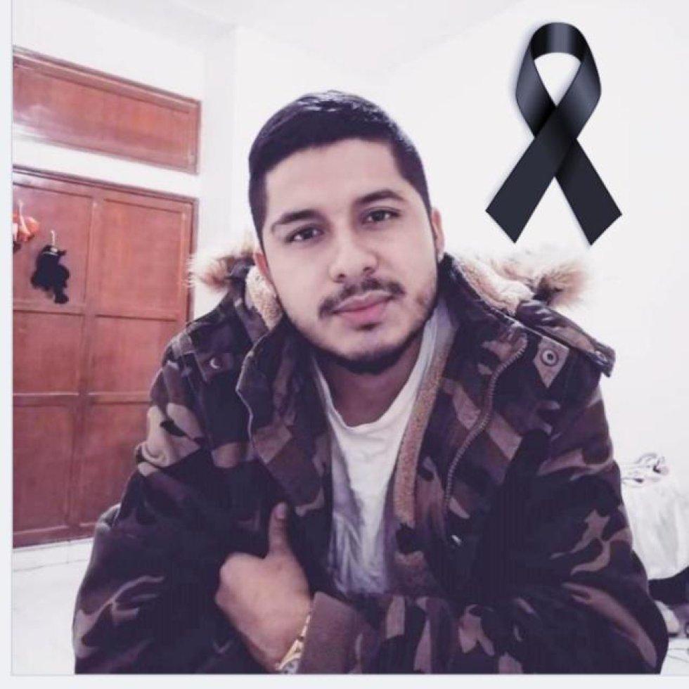 Óscar Andrés Obando (27 años). Estudiante de cuarto semestre en la Escuela del Deporte del Valle del Cauca.