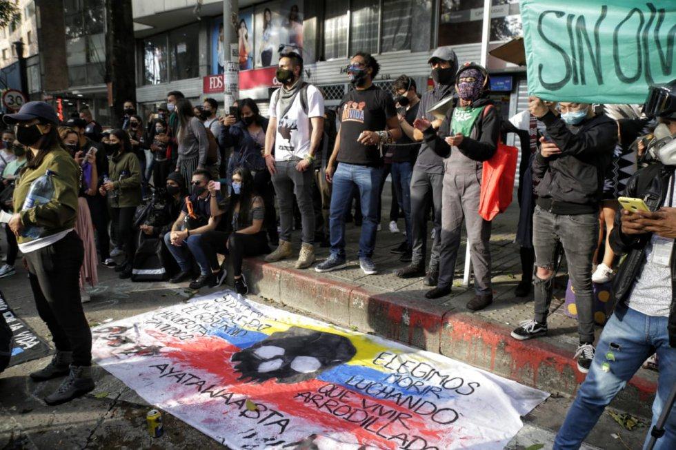Protestas 21 de noviembre: Imágenes de la jornada de protestas del 21 de noviembre