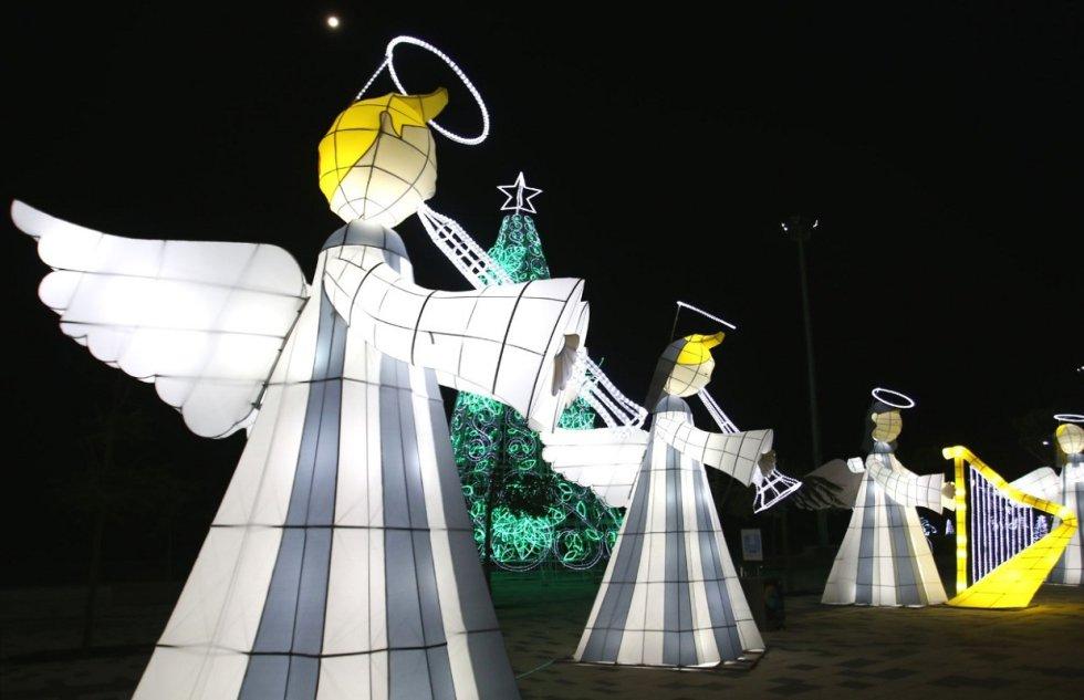 Alumbrado navideño Barranquilla: Así fue el encendido del alumbrado navideño en Barranquilla
