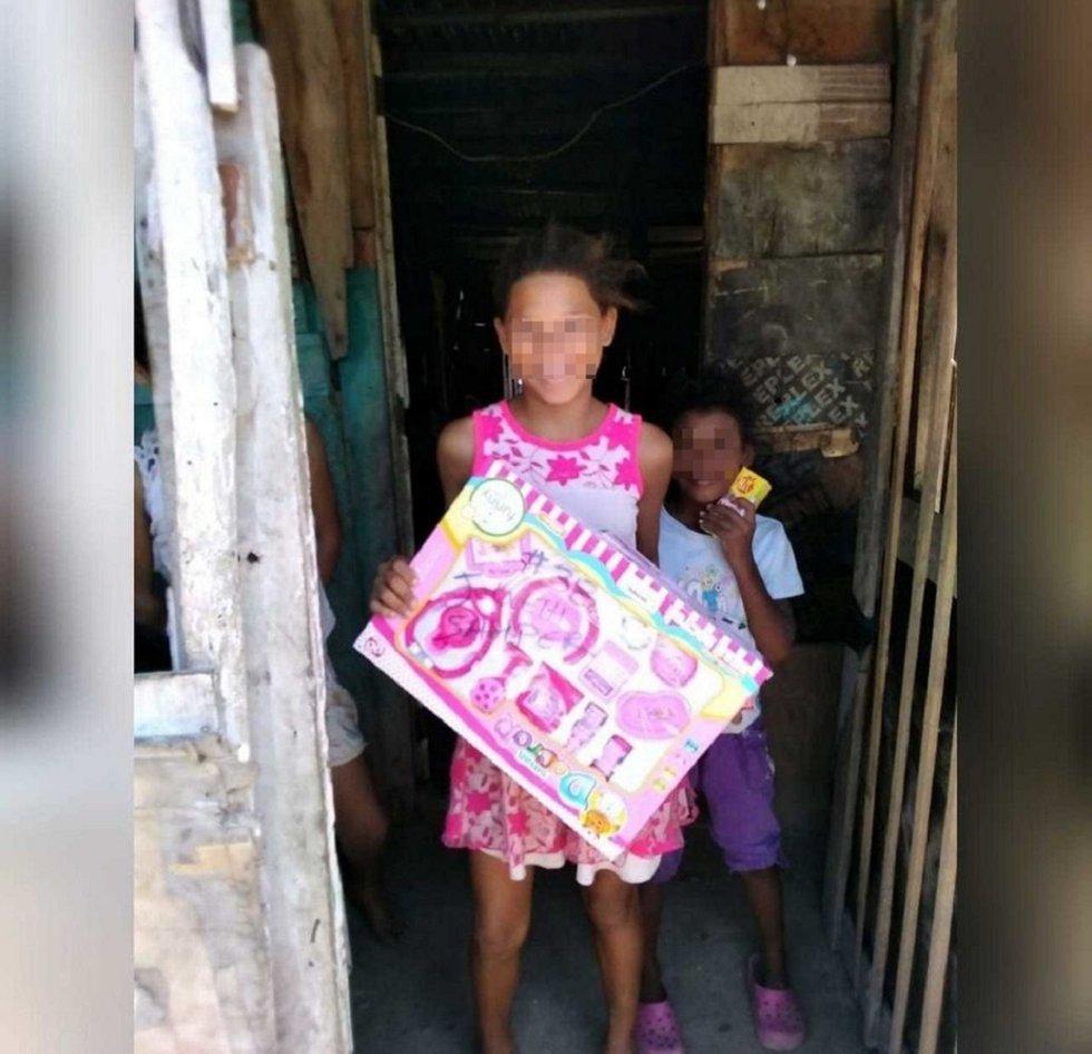 Otros 101 regalos fueron entregados en Rebolo