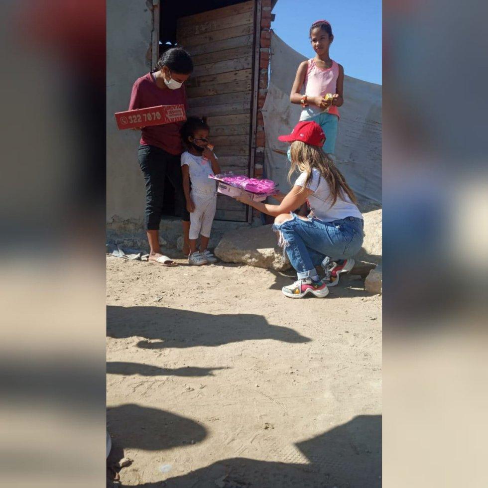 A lo largo de la próxima semana continuarán las entregas en barrios vulnerables
