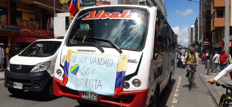 Los transportadores y su mensaje al gobierno