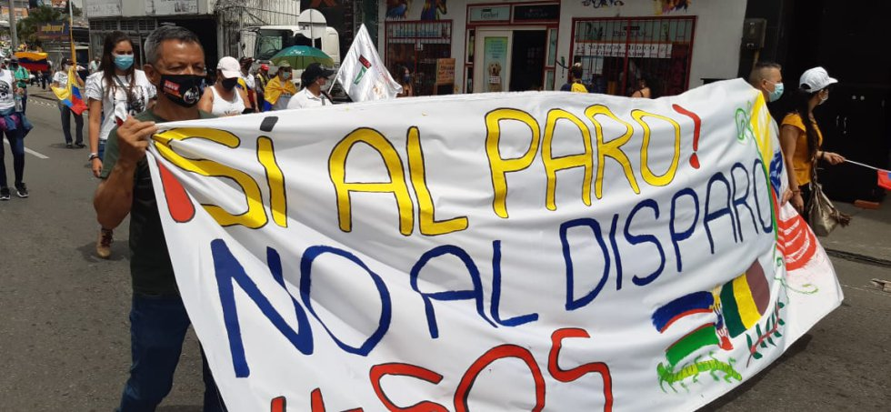 Los docentes y el llamado para frenar el uso excesivo de la fuerza en las manifestaciones