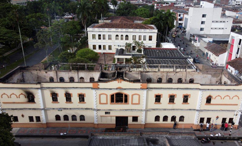 Palacio de Justicia en Tuluá