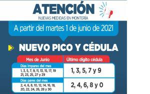 A partir del 1° de junio no habrá toque de queda ni ley seca en Montería