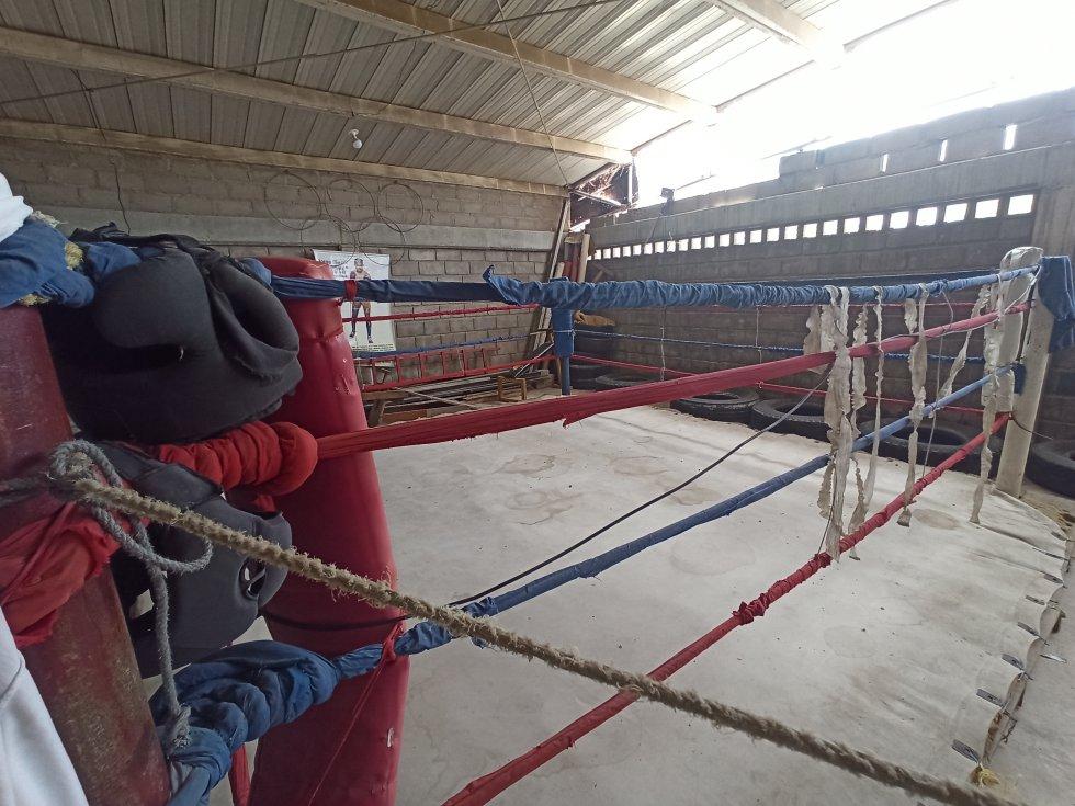 Cuadrilátero de boxeo