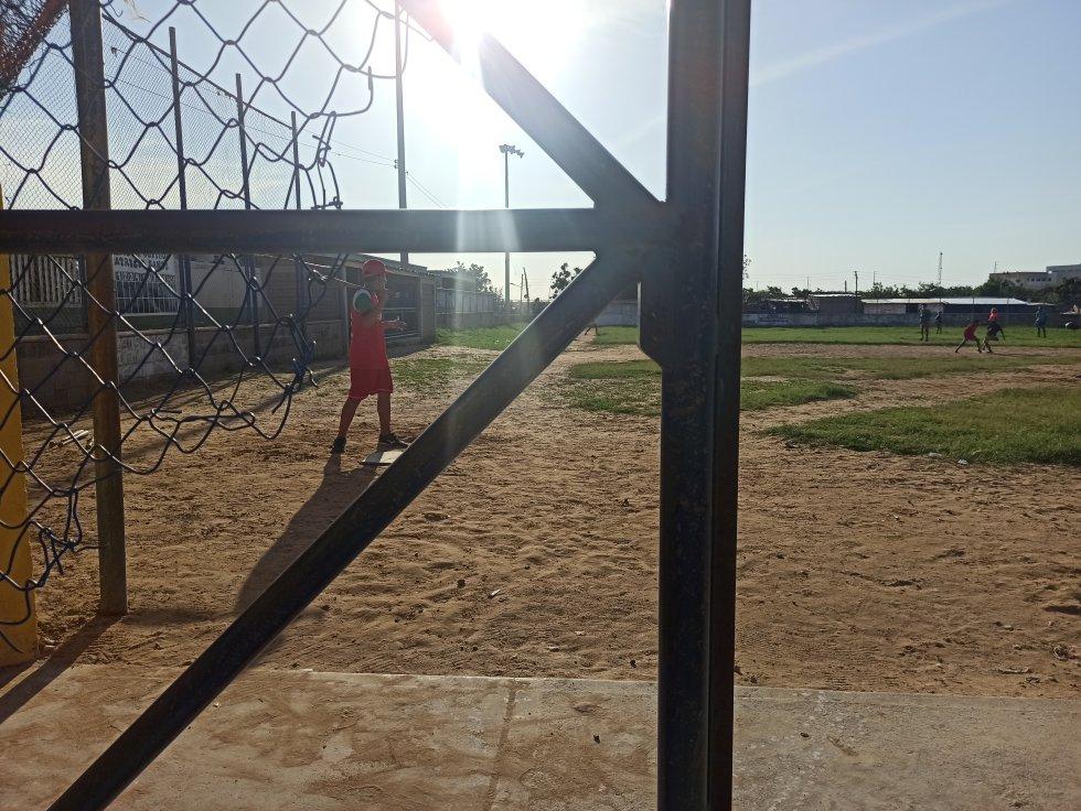Estadio de softbol y béisbol menor Patricio Santos