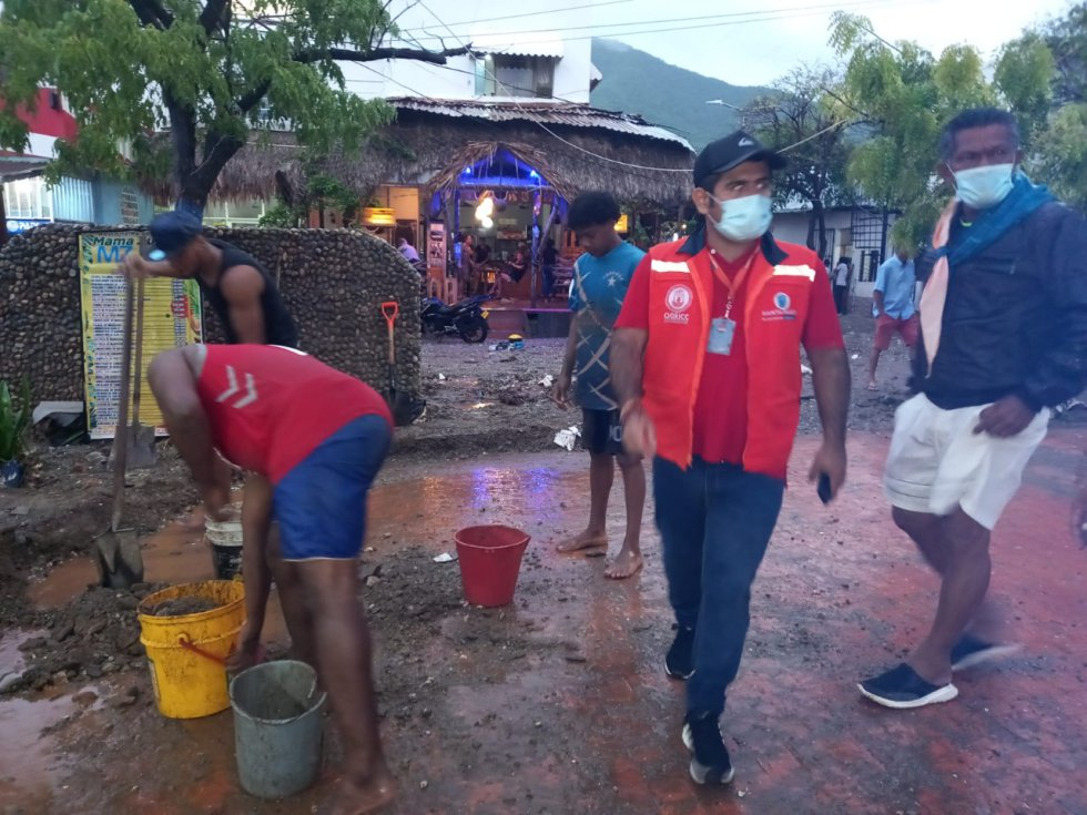 Lluvias en la zona norte de Colombia: ¡Santa Marta y Taganga están bajo el agua!
