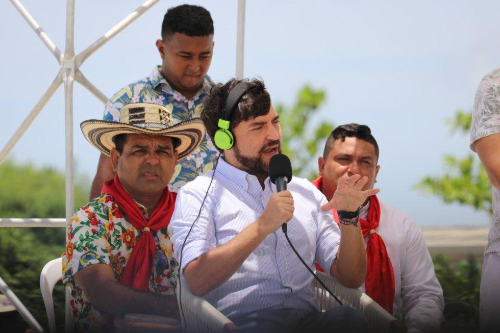 Alcalde Jaime Pumarejo en entrevista para 10AM Hoy por Hoy