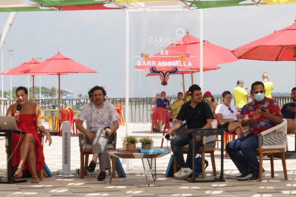 Transmisión especial desde el Caimán del Río en el Gran Malecón