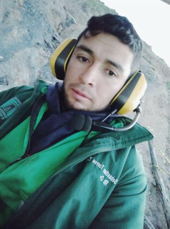 Sebastián Torres, rescatista de mineros