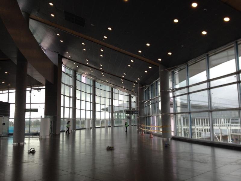 Este es el nuevo muelle nacional, con un área de 65.208 metros cuadrados. Foto: Caracol Radio.