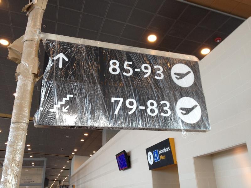 La señalización. Foto: Caracol Radio