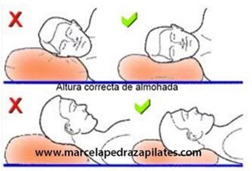 La almohada que utilice en el momento de dormir y descansar es clave para evitar el dolor de espalda.