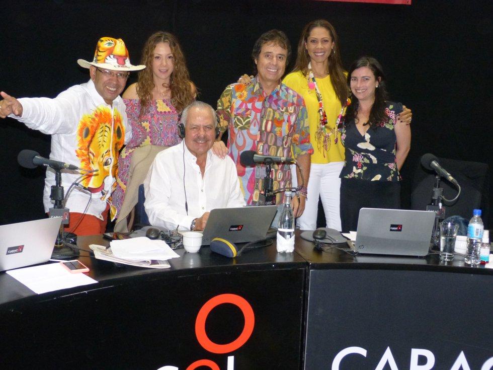 Fotos Darío Arizmendi y 6 AM Caracol Radio en el Carnaval de Barranquilla: 6:00 AM se toma La Arenosa