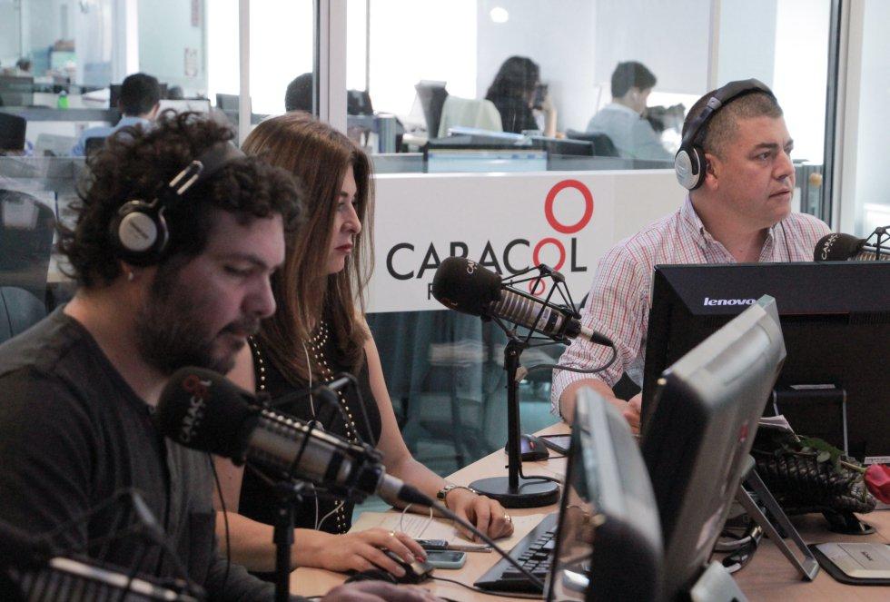 Gustavo Gómez, Alexandra Montoya y Pascual Gaviría