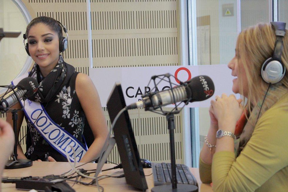 Disfrute los mejores momentos de la visita de la soberana de la belleza colombiana en dosypunto.co