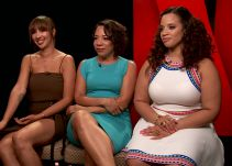 Diana Montoya habla con las tres latinas de la serie 'Orange Is The New Black'
