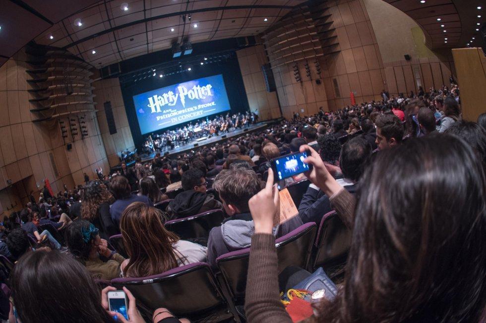 Harry Potter Orquesta: [Fotos] Harry Potter deslumbra a los asistentes con un espectáculo lleno de música y encantamientos