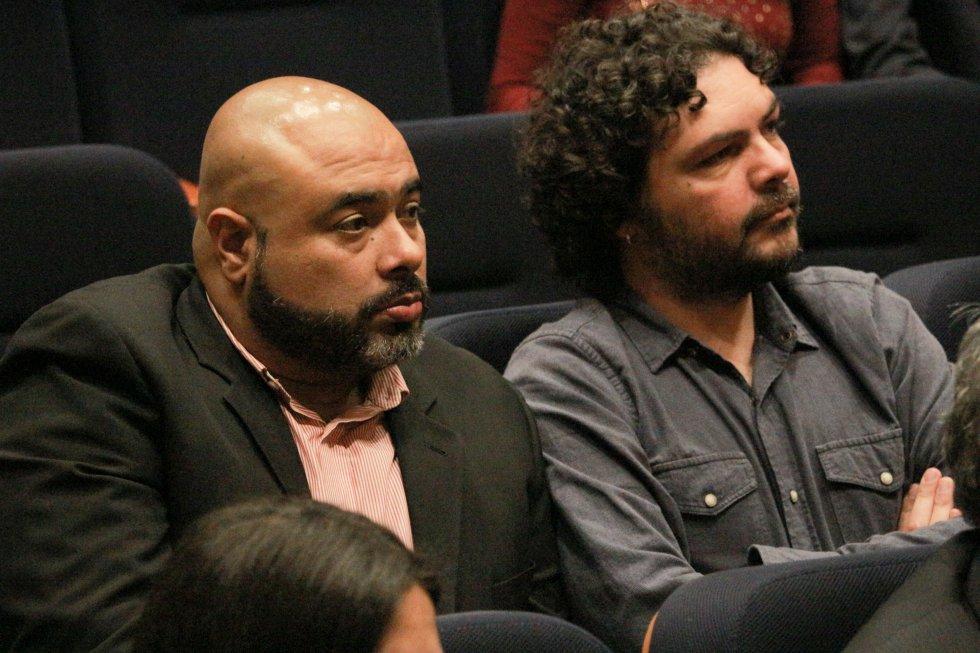 Óscar Monsalve, mejor conocido como 'Risaloca', y Pascual Gaviria son integrantes de La Luciérnaga con sede en Medellín.