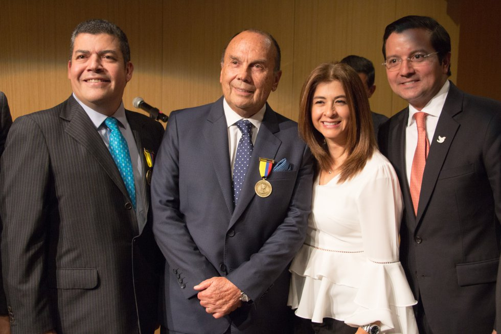 Gustavo Gómez, Hernán Peláez, Alexandra Montoya y David Luna.