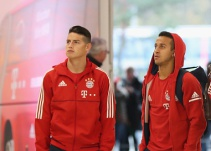 "James Rodríguez y el ""anis"" en el Media Day con Bayern Munich"