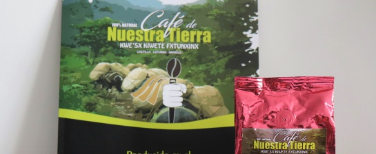 Café Nuestra Tierra, producido en el Resguardo.