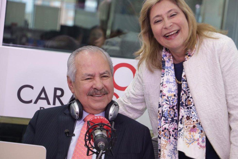 Darío y su esposa Ana María Navarro