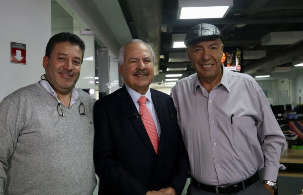 Gabriel Chemas Escandón y Edward Acero