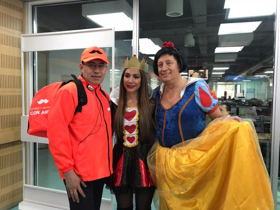 Alfonso Ospina, Catherine Juvinao y Gabriel Delascasas