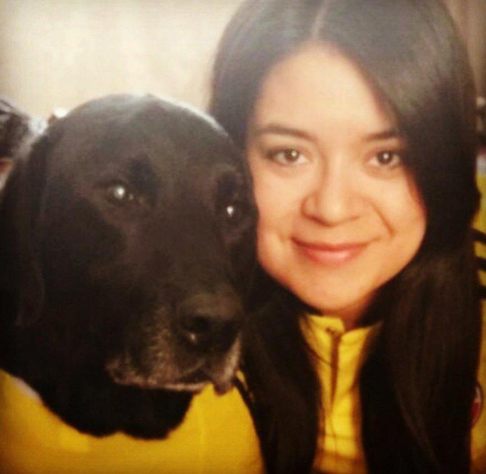 Diana León, Jefe de producto digital junto a su querido Tomás