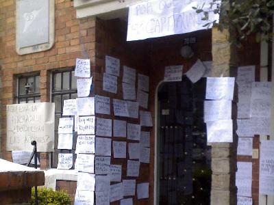 Protestas contra Millos