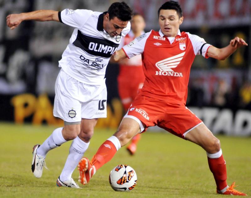 Independiente Santa Fe cayó en su visita ante Olimpia de Paraguay 2- 0, y deberá ganar en Bogotá por 3 goles para llegar a al a final de la Copa Libertadores