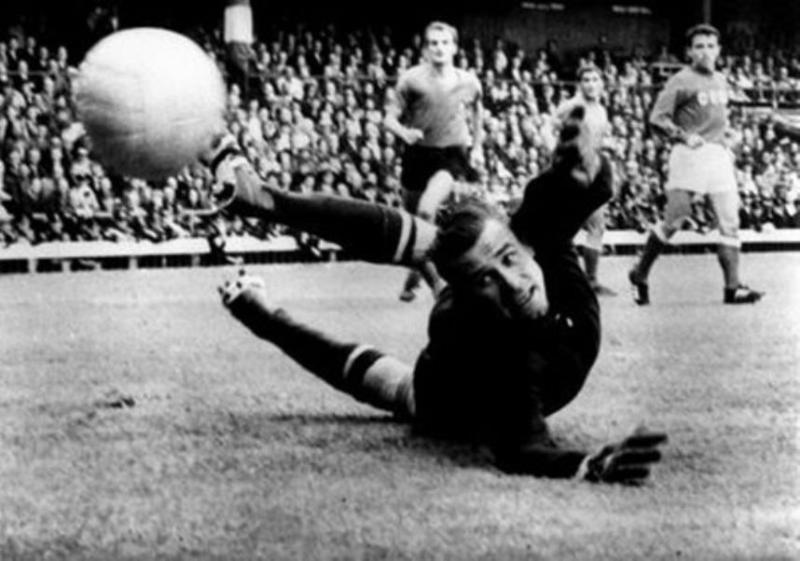 Lev Yashin (Unión Soviética) Campeón de la Eurocopa en 1960.
