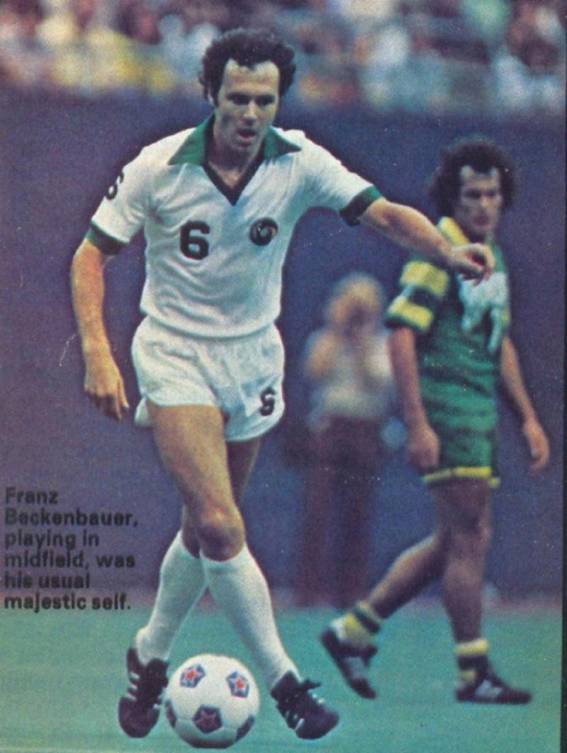 Franz Beckenbauer (Alemania) Campeón mundial en 1974.