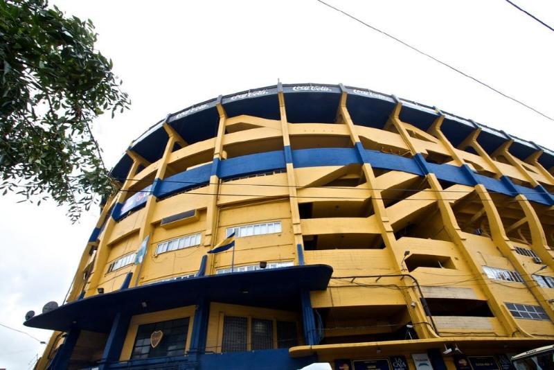 Estadio La Bombonera, sede de Boca Juniors, en Buenos Aires.