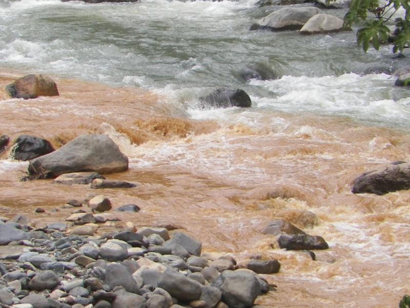 Río en Tolima contaminado con lodo, cianuro y plomo