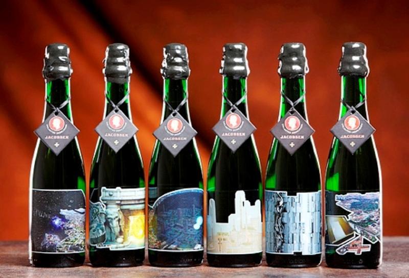 Carlsberg's Jacobsen Vintage: Desde 2008 hasta 2010 una empresa danesa produce este vino de cebada, envejecido en barriles de roble durante seis meses. Produce 600 botellas al año que se venden en restaurantes de lujo en Copenhague. Precio: $800.000 por una botella de 375 ml.