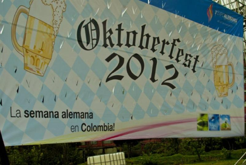 Oktoberfest 2012 Colombia. Foto: Cámara de Industria y Comercio Colombo.