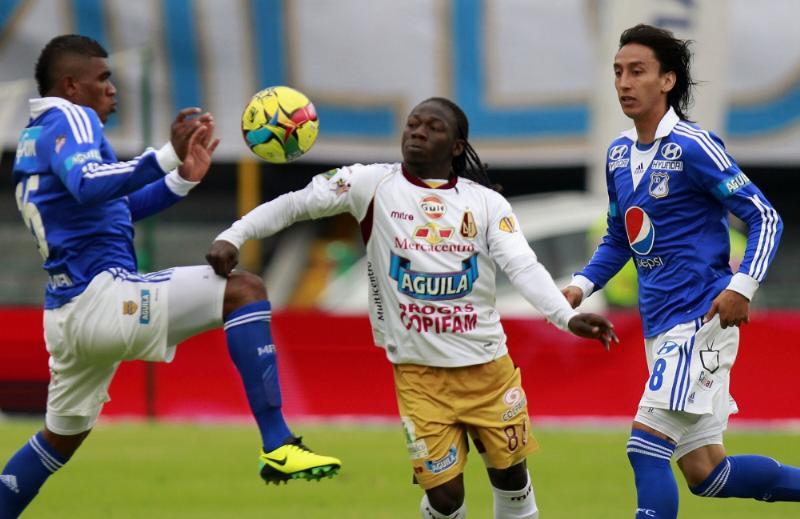 """Los dirigidos por Hernán Torres vencieron 2-1 a Tolima y el equipo """"tiburón"""" empató 2-2 en su visita a La Equidad."""