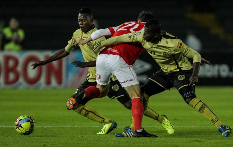 Los goles del partido los marcaron Wilder Medina y Luis Carlos Arias.
