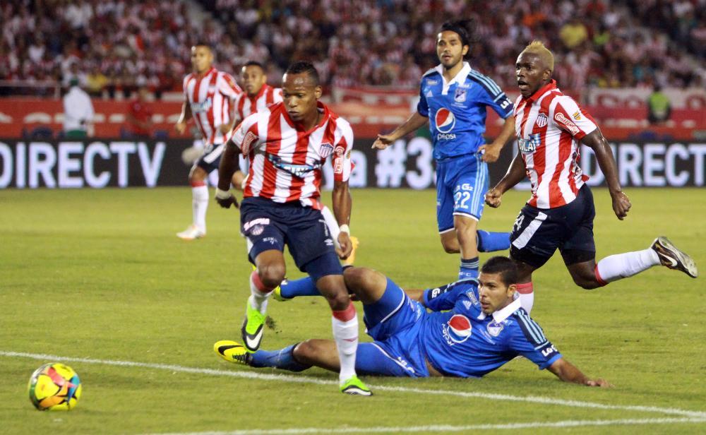Los dirigidos por Juan Manuel Lillo consiguieron la igualdad sin goles en su visita a Barranquilla. La serie se definirá el domingo en El Campín.