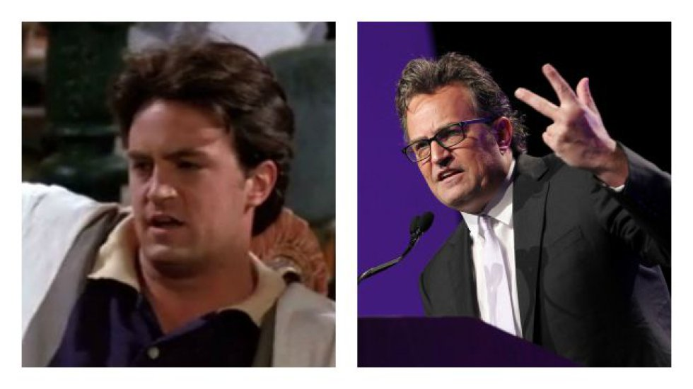 Matthew Perry interpretaba a Chandler Bing.