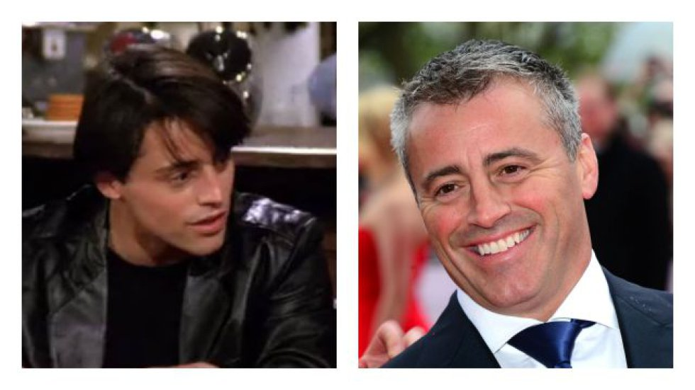 Matt Le Blanc interpretaba a Joey Tribbiani.