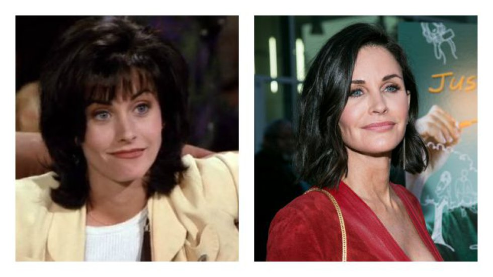 Courteney Cox interpretaba a Monica Geller.