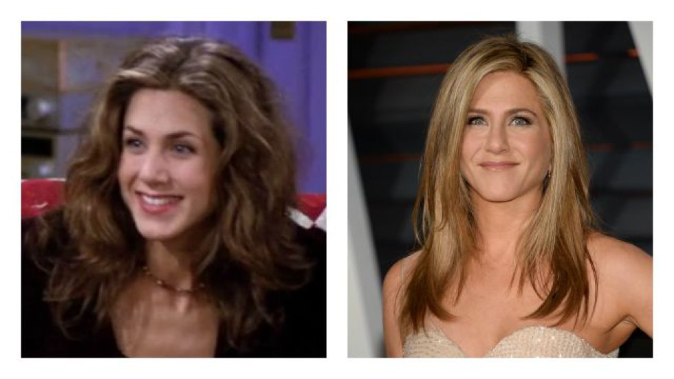Jennifer Aniston interpretaba a Rachel Green.