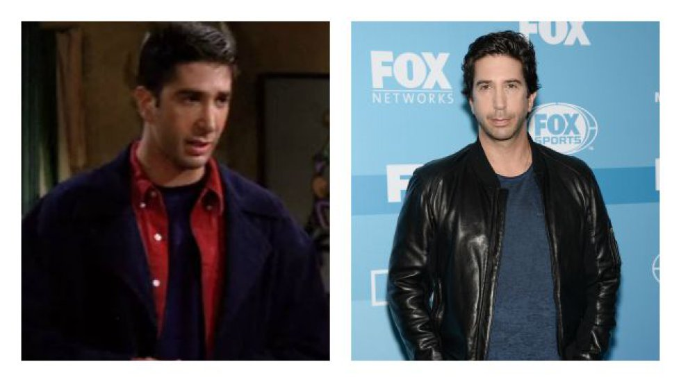 David Schwimmer interpretaba a Ross Geller.