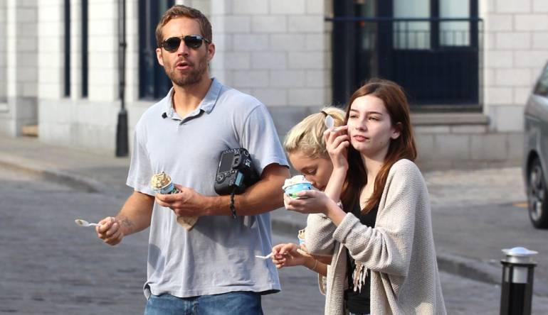 Paul Walker con su hija Meadow.